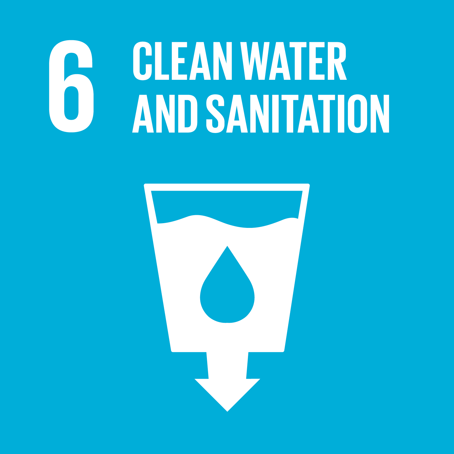 Ensure availability and sustainable management of water and sanitation for all.